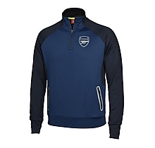 Arsenal Leisure Infant 3/4 Zip Poly Marl Top