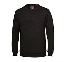 Arsenal Embossed Cannon Sweatshirt