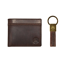 Arsenal Heritage Leather Wallet & Keyring Set