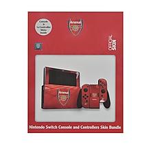 Arsenal Nintendo Switch Console Skin