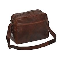 Arsenal Heritage Leather Messenger Bag