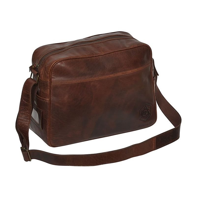 0120a47368 Arsenal Heritage Leather Messenger Bag