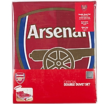 Arsenal Pulse Double Duvet Set