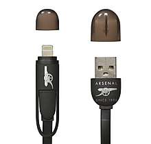 Arsenal USB Charging & Data Cable 2in1 Android & Apple