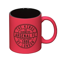 Arsenal Kings of London Neon Pink Mug