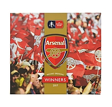 Arsenal FA Cup Winners Gold Plated Commemorative Medal