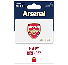 Arsenal Happy Birthday Gift Card 100
