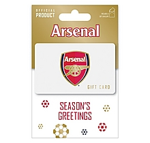 Arsenal Seasons Greetings Gift Card 25