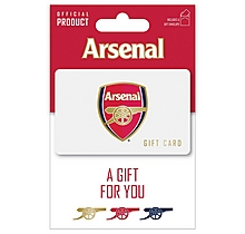 Arsenal Gift Card 15