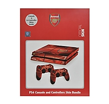 Arsenal PS4 Console & 2 Controller Skins