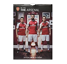 Arsenal 2018 A3 Calender