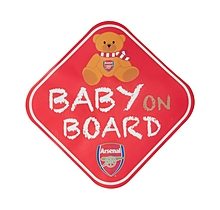 Arsenal Baby On Board Car Set