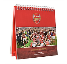 Arsenal Desk Calender 2018