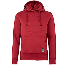 Arsenal Embossed Crest X Front Hoody