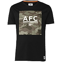 Arsenal Since 1886 Khaki Camo Block T-Shirt