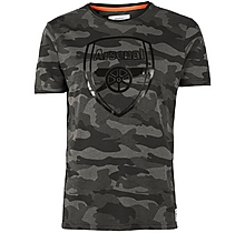 Arsenal Since 1886 Digi Camo Crest T-Shirt