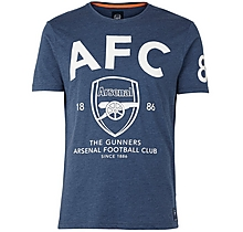 Arsenal Since 1886 AFC High Build Print T-Shirt
