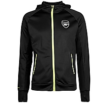 Arsenal Leisure Neon Trim Zip Hoody