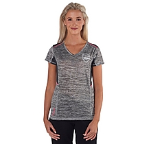 Arsenal Leisure Womens Neon Trim T-Shirt