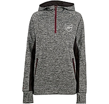 Arsenal Womens Leisure 1/4 Zip Hoody