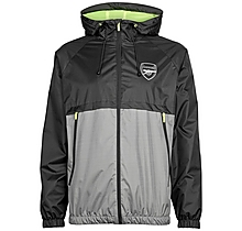 Arsenal Leisure Neon Trim Shower Jacket