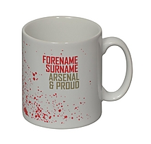 Arsenal Personalised Proud Mug