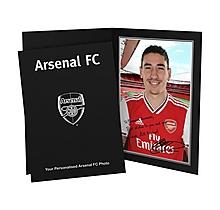 Arsenal Personalised Bellerin Signature Photo Folder