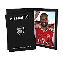 Arsenal Personalised Lacazette Autograph Photo Folder