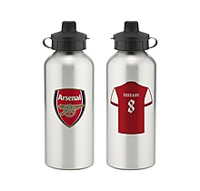 Arsenal Personalised Player Water Bottle