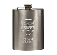 Arsenal Personalised Hip Flask