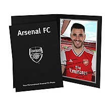 Arsenal Personalised Kolasinac Autograph Photo Folder