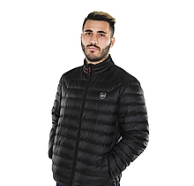 Arsenal Black Feather and Down Jacket