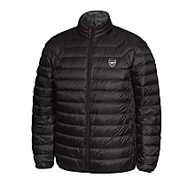 0289c3e505a862 Arsenal Black Feather and Down Jacket