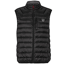 Arsenal Black Feather and Down Gilet