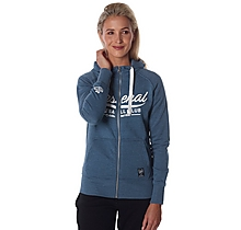 Arsenal Womens Zip Hoody Denim Marl