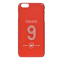 Arsenal Personalised Retro Phone Case