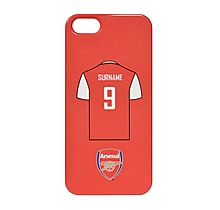 Arsenal Personalised Shirt Phone Case