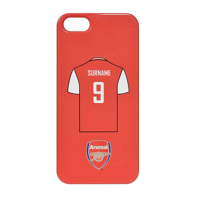 watch 1242b f0975 Arsenal Personalised Shirt Phone Case | Personalised Gifts | Gifts ...