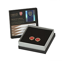 Arsenal Giroud Match Worn Shirt Cufflinks