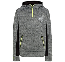 Arsenal Kids Leisure 1/4 Zip Hoody (4-13yrs)
