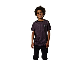 Arsenal Kids Leisure Geo Print T-Shirt (4-13yrs)