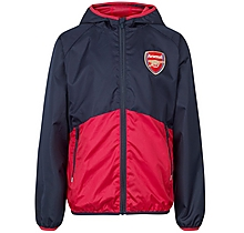 Arsenal Kids Leisure Shower Jacket (4-13yrs)
