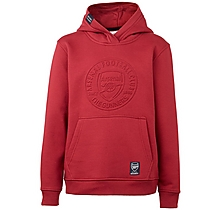 Arsenal Kids Embossed Crest Hoody (4-13yrs)