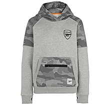 Arsenal Kids Since 1886 Camo Hoody (4-13yrs)