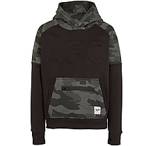 Arsenal Kids Since 1886 Camo Black Hoody (4-13yrs)