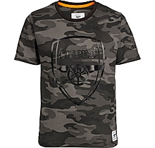 Arsenal Kids Since 1886 Camo Crest T-Shirt (4-13yrs)