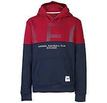 Arsenal Kids Since 1886 Contrast Panel Hoody (4-13yrs)