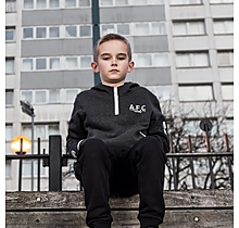 Arsenal Kids Since 1886 1/4 Zip Hoody (4-13yrs)