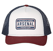 Arsenal Colour Block Trucker Cap