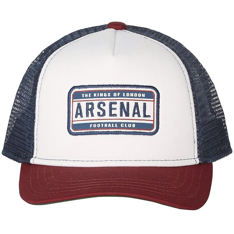 96adac95 Arsenal Colour Block Trucker Cap | Official Online Store
